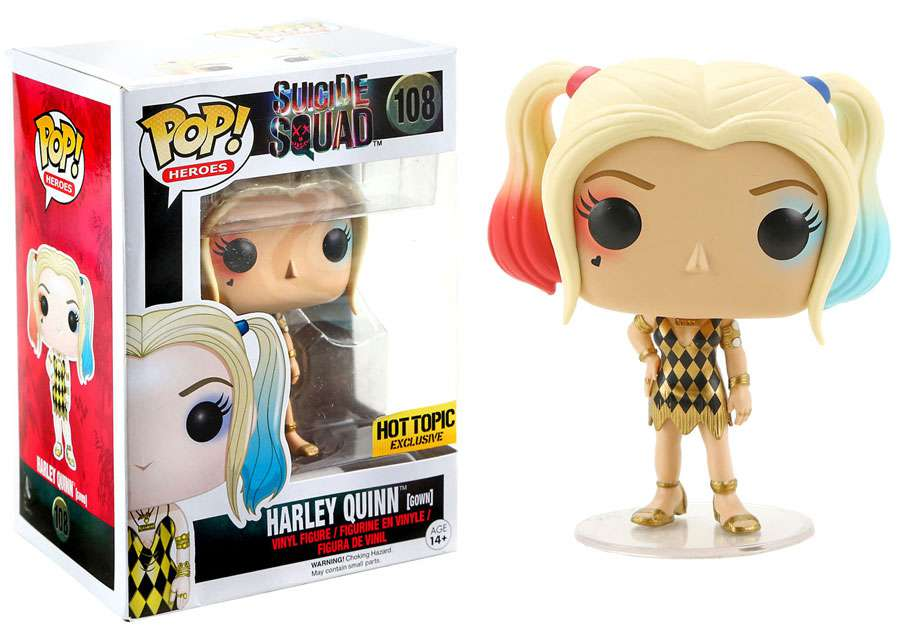 Suicide Squad Funko POP! Movies Harley Quinn (Gown) Vinyl Figure by