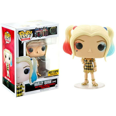 Suicide Squad Funko POP! Movies Harley Quinn (Gown) Vinyl Figure - Harley Quinn Decal