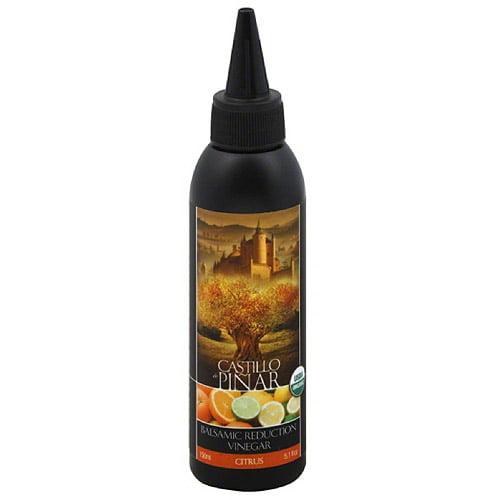 Castillo de Pinar Citrus Balsamic Reduction Vinegar, 5.1 fl oz, (Pack of 6) by Generic