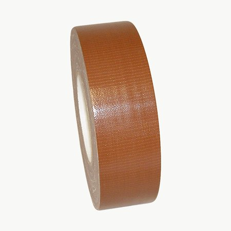 JVCC DT-IG Industrial Grade Duct Tape: 2 in. x 60 yds. (Dark Brown) - Brown Duct Tape