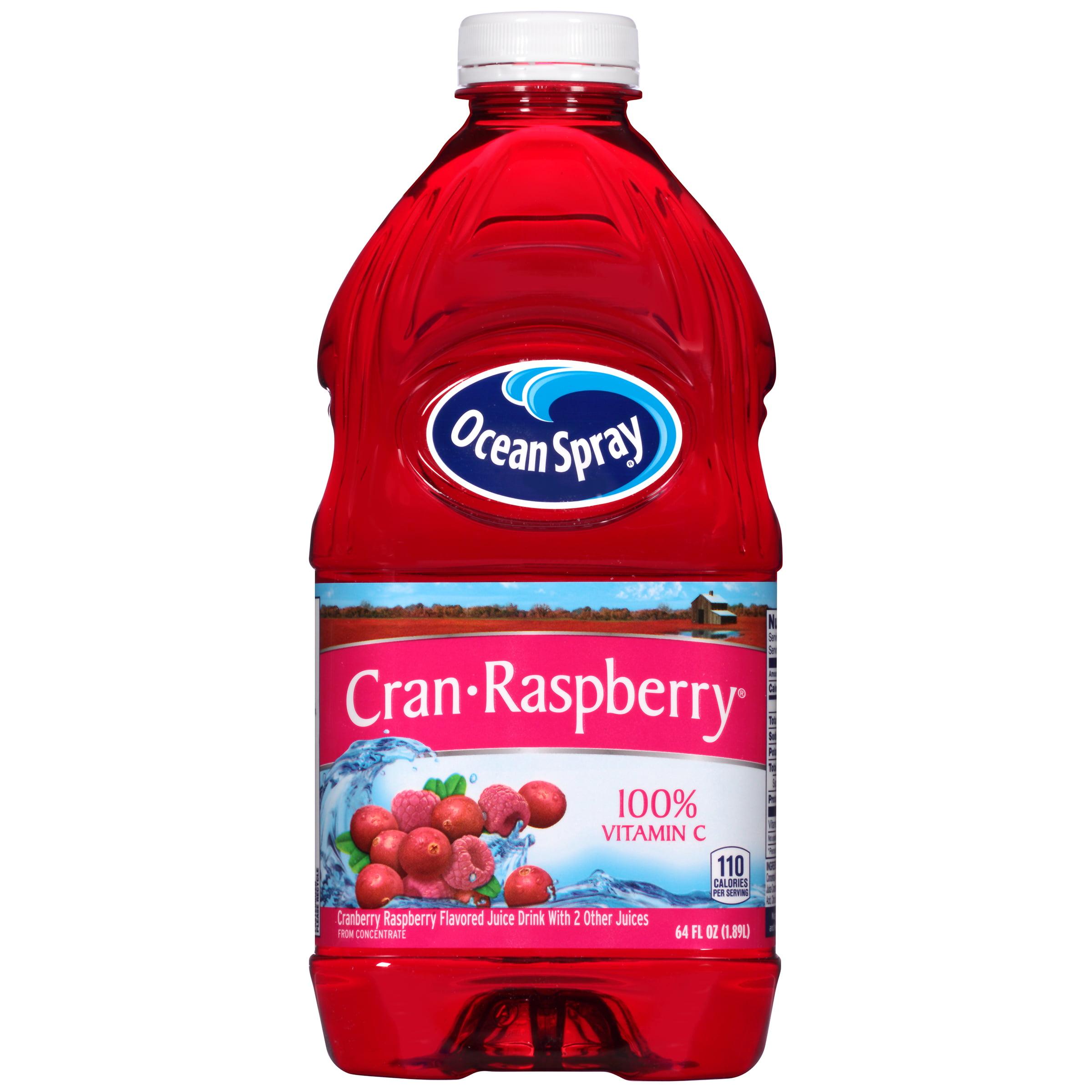Ocean Spray Fruit Juice, Cran-Raspberry, 64 Fl Oz, 1 Count