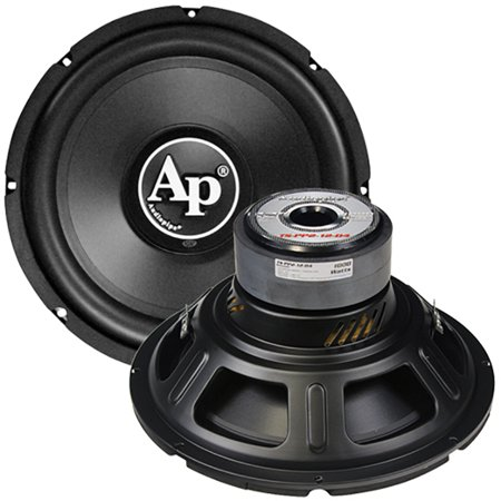 Audiopipe TS-PP2 12-D4 12-inch 4-ohm DVC Subwoofer (300W RMS, 1000W