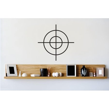 Vinyl Wall Decal Sticker Target Image Aim Bullseye Bedroom Bathroom Living Room Picture Art