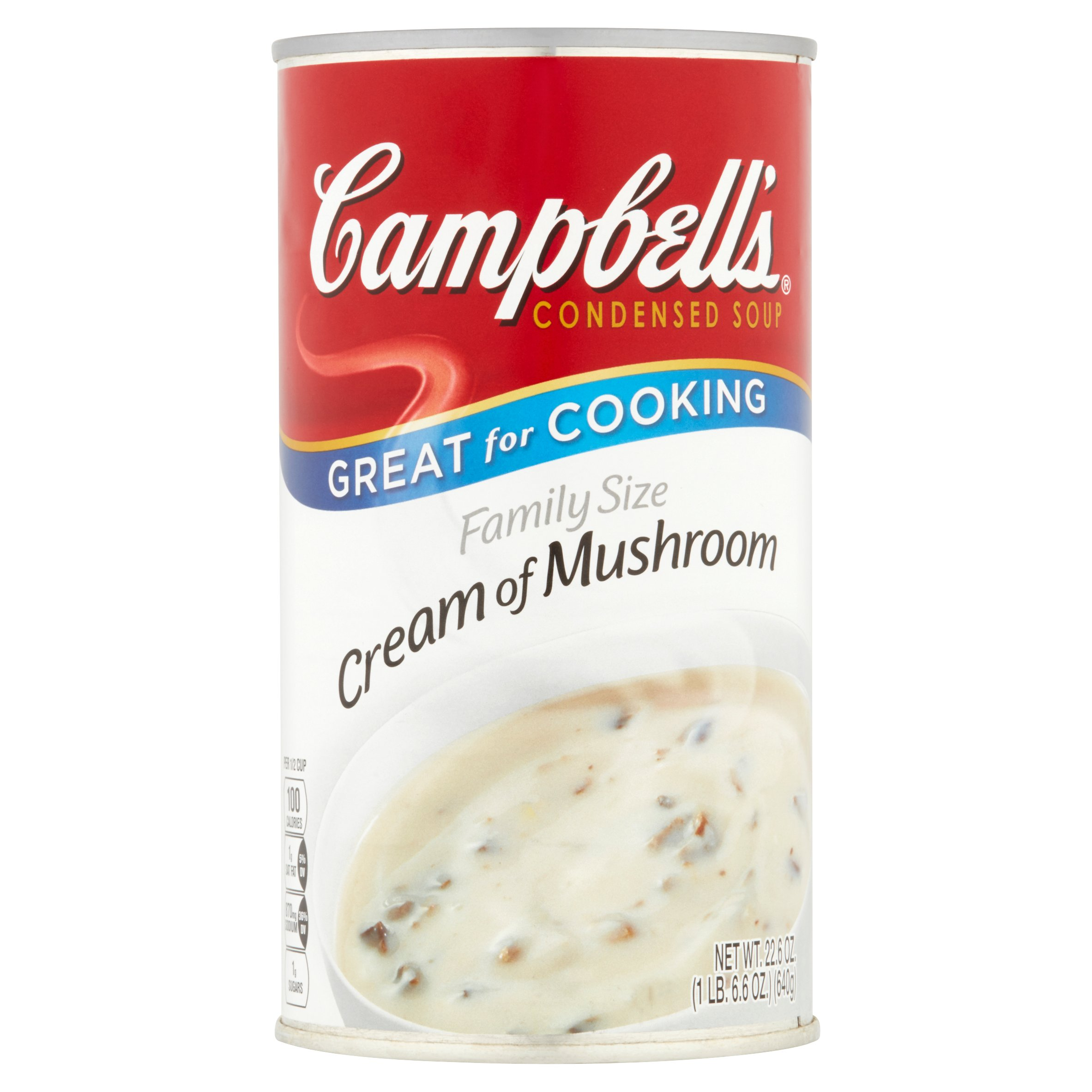 Campbell's Cream of Mushroom Condensed Soup, 22.6 oz by Campbell Soup Company