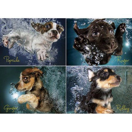 Seth Casteel Underwater Puppies 1000 Piece Puzzle