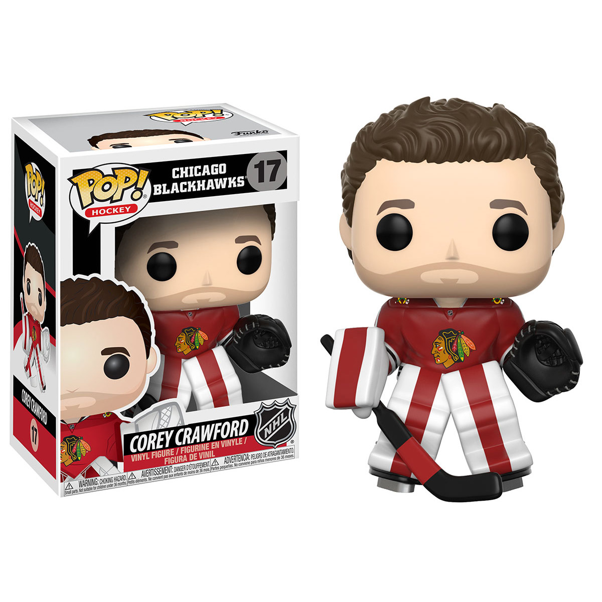 FUNKO POP! NHL S2: Corey Crawford (Home Jersey)