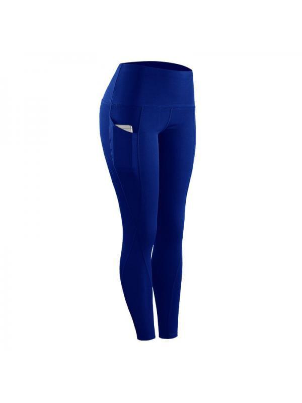 Ropalia Women Sports Yoga Pants High Waist Fitness Leggings Running Gym Stretch Trousers