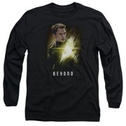 Star Trek Beyond Chekov Poster Mens Long Sleeve Shirt