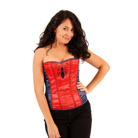 Spider Girl Strapless Sequin - Sequin Corsets