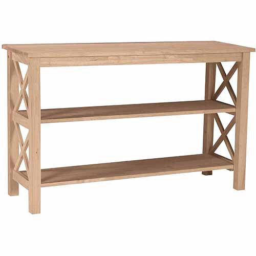 International Concepts Ot-70S Hampton Console or Sofa Table, Ready To Finish