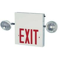 BIG BEAM BIG BEAM Steel LED Exit Sign with Emergency Lights, 2COM1GWW