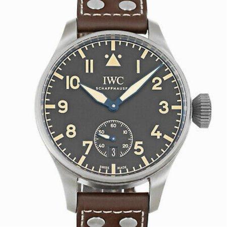 Pre-Owned Iwc Big Pilot IW5103 Titanium  Watch (Certified Authentic & Warranty) Replica Big Pilot
