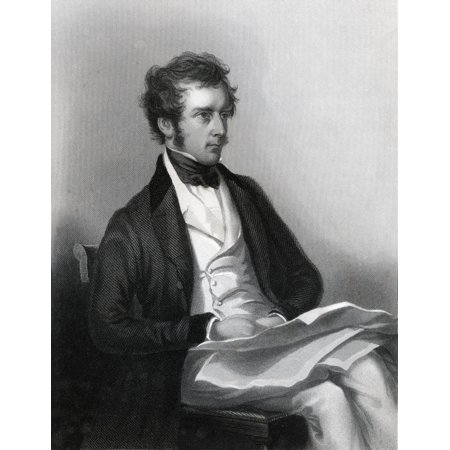 Port Pelham - Charles Pelham Villiers 1802 To 1898 British Lawyer And Politician Engraved By J Cochran After C A Duval From The Book The National Portrait Gallery Volume Iii Published C1820 Canvas Art - Ken Welsh