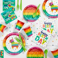 Fiesta Fun Party Supplies Kit, Serves 8 Guests