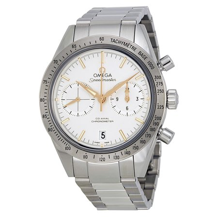 Omega Speedmaster Chronograph Silver Dial Steel Mens Watch 33110425102002