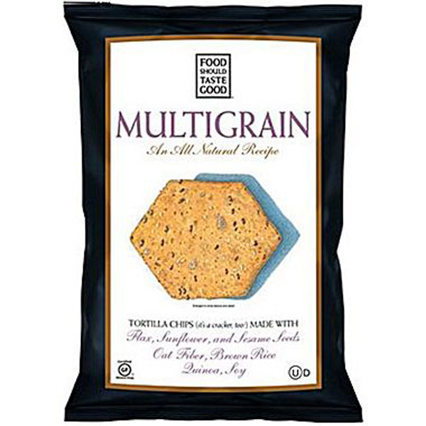 Food Should Taste Good Multigrain Tortilla Chips 5.5oz Bags-Pack of 12