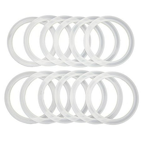 Reusable Snap Fit Seals by County Line Kitchen for Ball Plastic Mason Jar Lids, Will Not Fall Out, Wide Mouth - image 1 of 1