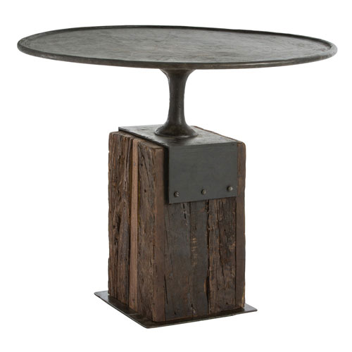 Anvil Burnt Wax Entry Table by
