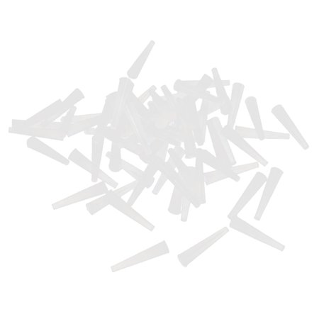 Powder Coating California - Unique Bargains 50 Pcs 1.5mmx3mm Silicone Powder Coating Paint Tapered Stopper Plug