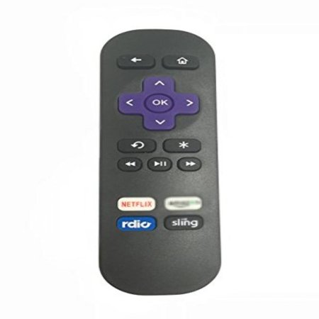 Vinabty New Replaced Remote Fit For Roku 1 2 3 4 Lt Hd Xd Xs With Shortcut Bottons   Not Support For Roku Streaming Stick  Hdmi Or Mhl  Or Tcl Tv