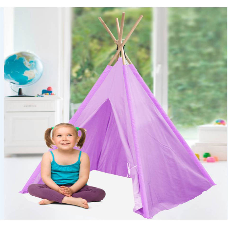 American Kids Awesome Tee-Pee Tent, Lilac by Idea Nuova
