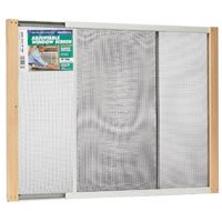 Expandable Window Screen - Thermwell Products Wb Marvin Aws1833 Window Screen Adj 18X33