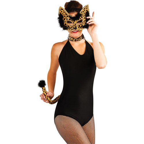 Leopard Adult Halloween Costume Kit, One Size