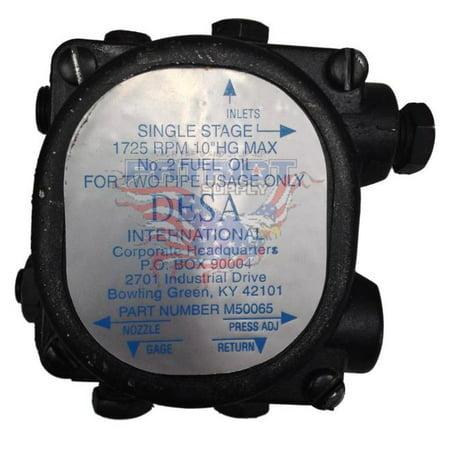 Webster 1M112C8MT2 Single Stage, 1725 RPM, Oil Pump Desa International Number M50065
