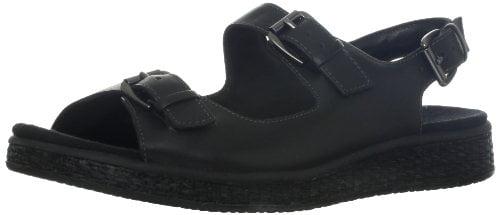 Trotters Women's Bibi Sandal,Black,9.5 M US by Trotters Footwear