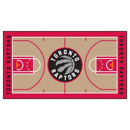 Nba Large Court Runner - NBA - Toronto Raptors Large Court Runner 29.5x54