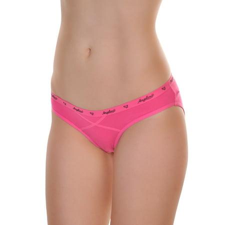 Angelina Classic Cotton Bikini Panties (12-Pack)
