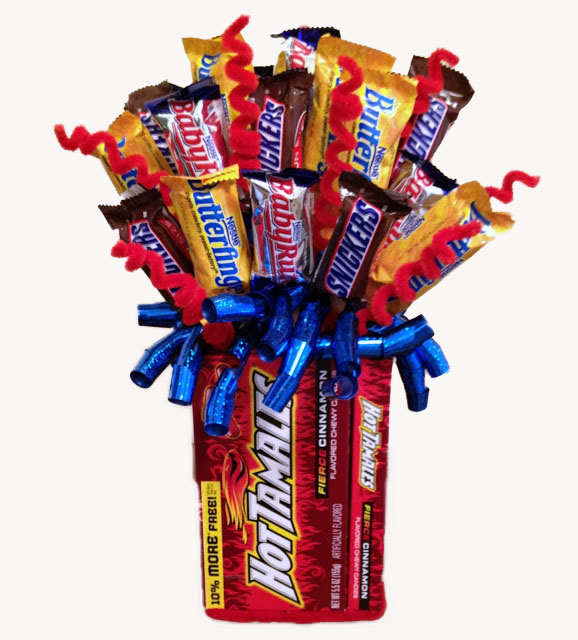Celebrations Hot Tamale Candy Bouquet