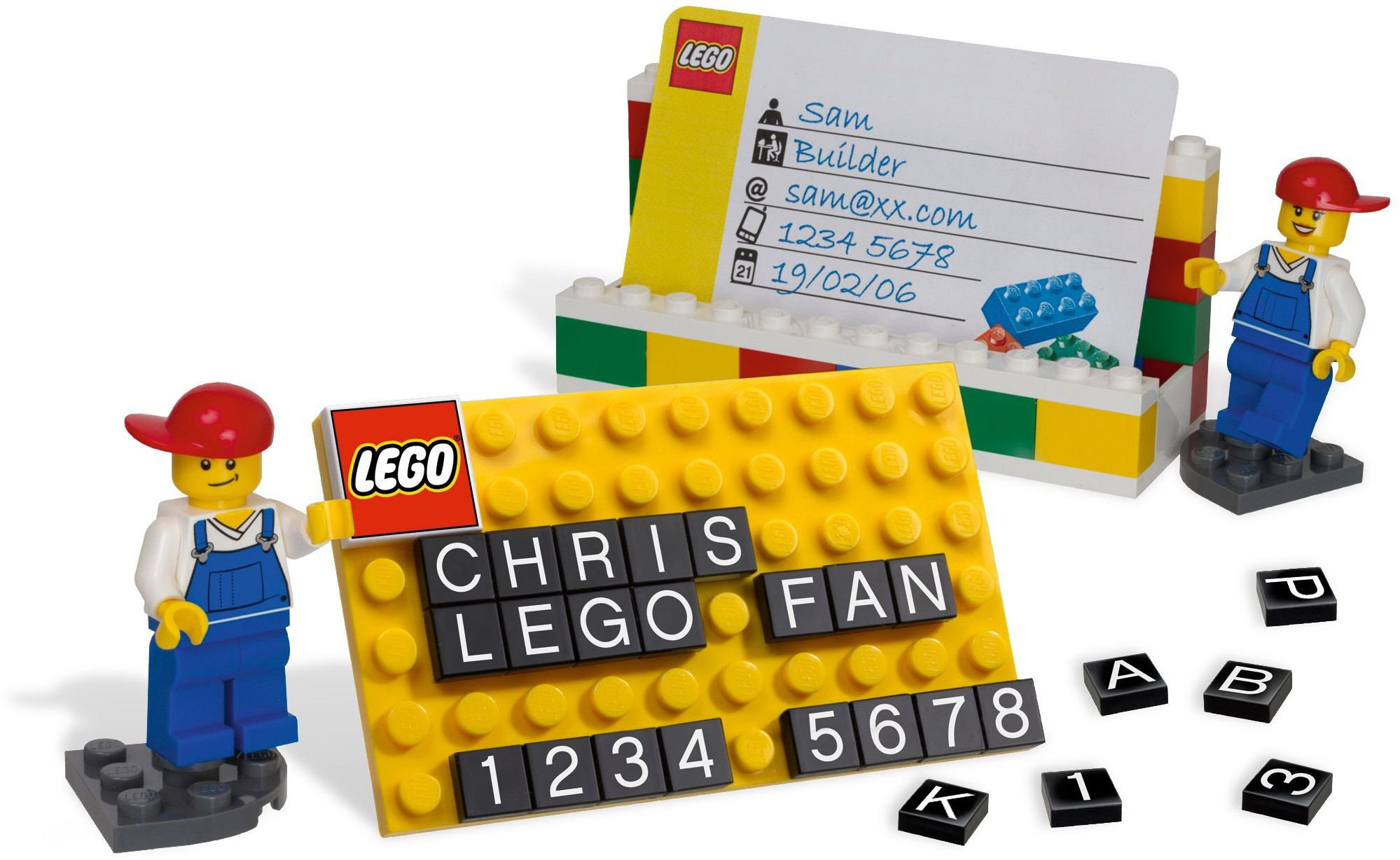Lego Desk Business Card Holder 850425 - Walmart.com