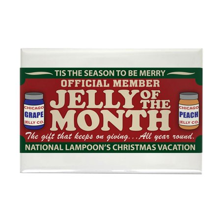 CafePress - CHRISTMAS VACATION JELLY OF THE MONTH CLUB Rectang - Rectangle Magnet, 2