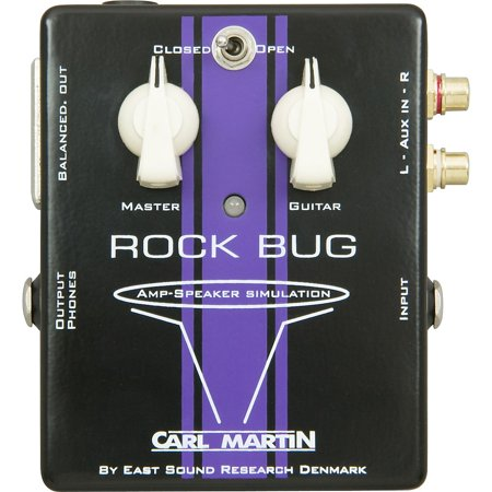 Carl Martin Rock Bug Headphone Guitar Amp and Speaker