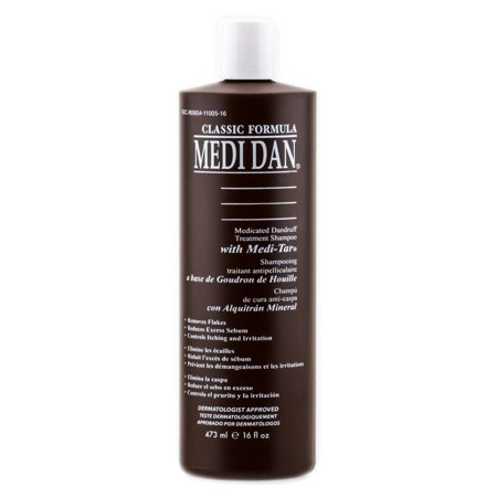 Medi-Dan Medicated Dandruff Treatment Shampoo - Size : 8