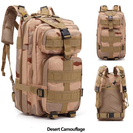 Zimtown 30L Waterproof Tactical Backpack, Small 3 Day Millitary Assault  Molle Army 511 Rucksack, Kids   Women Oxford fabric School Bookbag, ... 448a3159df
