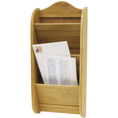 Home Basics 3-Tier Bamboo Letter Rack by Generic