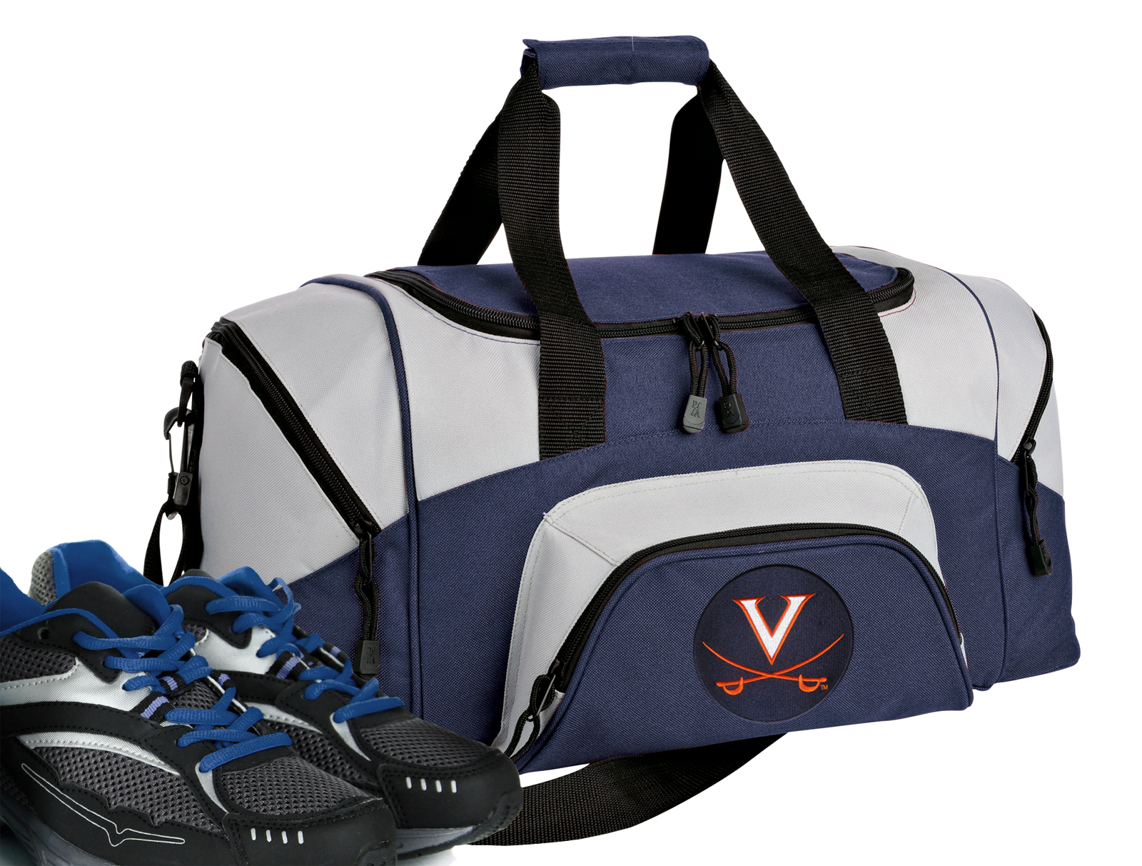 Small University of Virginia Duffle Bag or Small UVA Gym Bags by