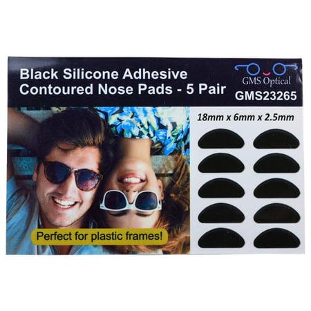 GMS Optical® 2.5mm Anti-slip Adhesive Contoured Soft Silicone ...