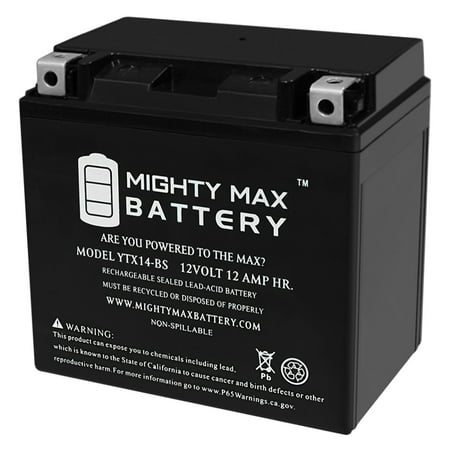 YTX14-BS Battery for Suzuki SV1000, S 03-07