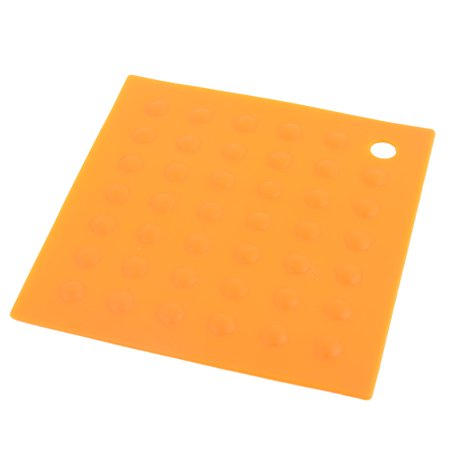Dining Room Silicone Square Heat Resistant Bowl Mat Table