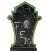 "15"" Spider Tombstone Table Piece Halloween Decoration"