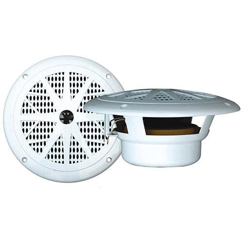 """Pyle PLMR61W Dual Cone Waterproof Stereo Speakers (6.5"""")"""