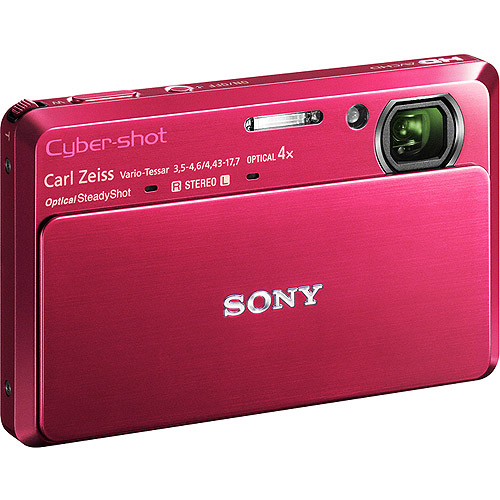 Sony Cyber-shot TX7 Red 10.0MP Digital Camera w/ 4x Optical Zoom