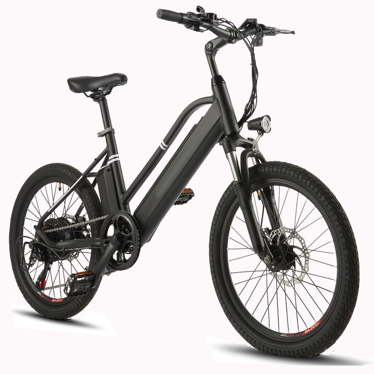 New Lithium Battery 350W//500W 36V 10Ah W// Charge for Electric Ebike City Bicycle