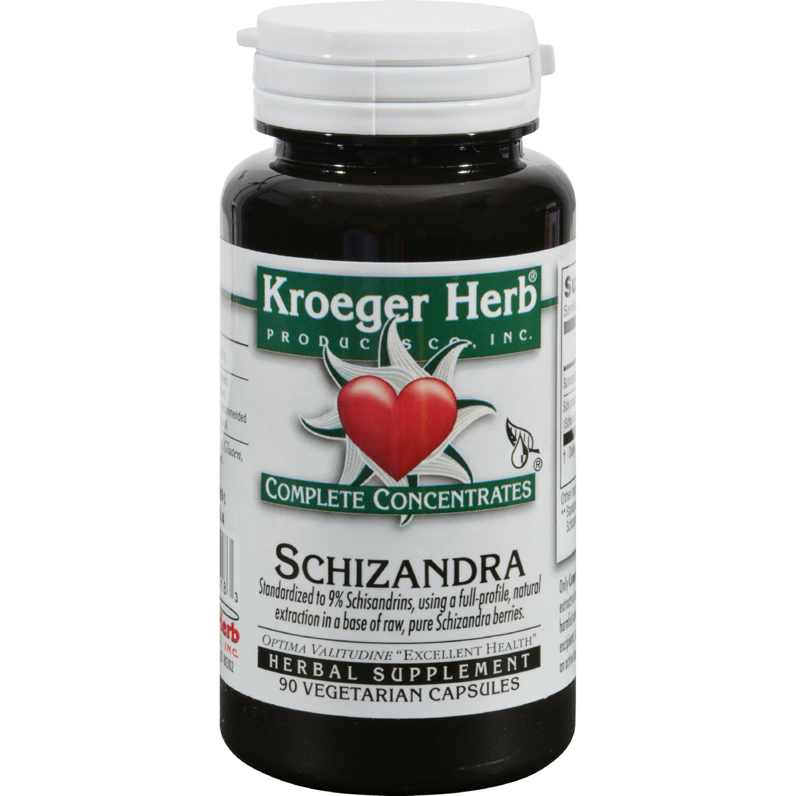 Kroeger Herb Products Kroeger Herb Complete Concentrates Schizandra, 90 ea