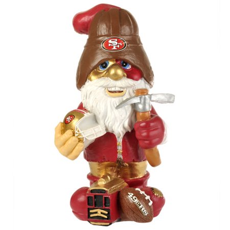Forever Collectables Nfl Thematic Gnome Version 2  San Francisco 49Ers