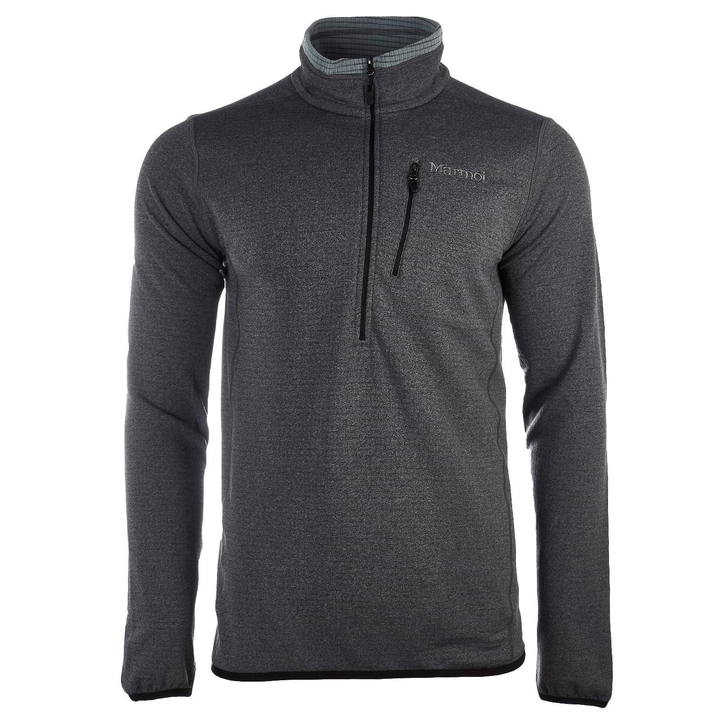 Marmot Preon 1/2 Zip Fleece Jacket - Black - Mens - XL