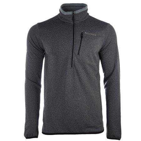 Marmot Preon 1/2 Zip Fleece Jacket - Black - Mens - XL (Marmot Fleece Jacket)
